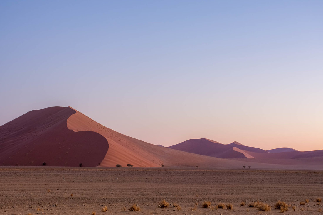 Photographs of Namibia by Melanie van Zyl Sossuvlei